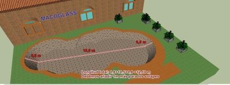 construyendo un estanque