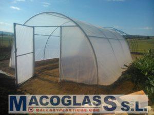 Kit para construir invernaderos