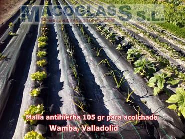 Malla antihierba 105 gr para acolchado en Wamba, Valladolid