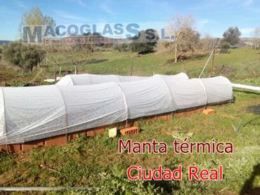 Manta térmica en Ciudad Real