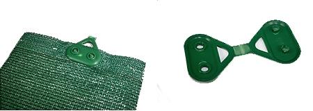 grapa verde mallas de ocultación