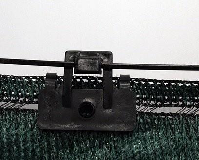 Grapa rectangular con gancho