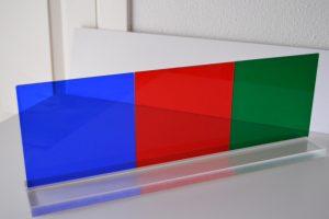 metacrilatos de colores
