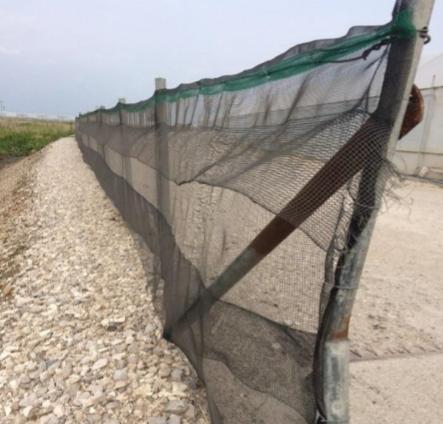 malla antifugas para caracoles