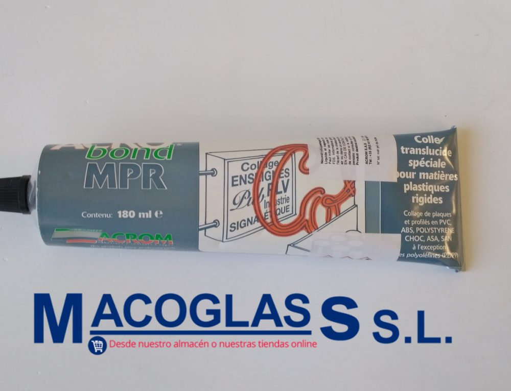 Pegamento Acrobond, PVC, ABS PS