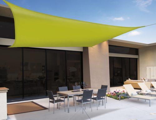 Velas de sombra para jardín, terraza, patios