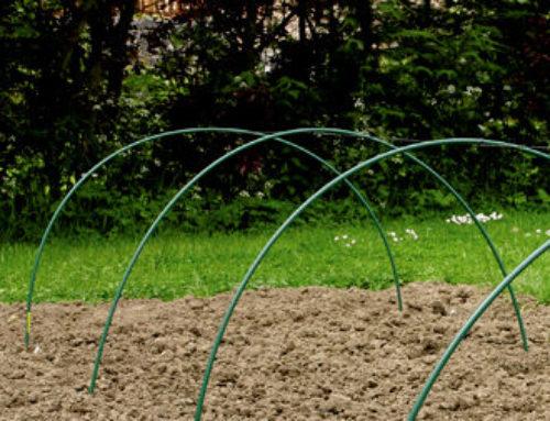 Tubo PVC para arco invernadero