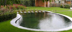 Piscina-Ecologica con lámina para estanques