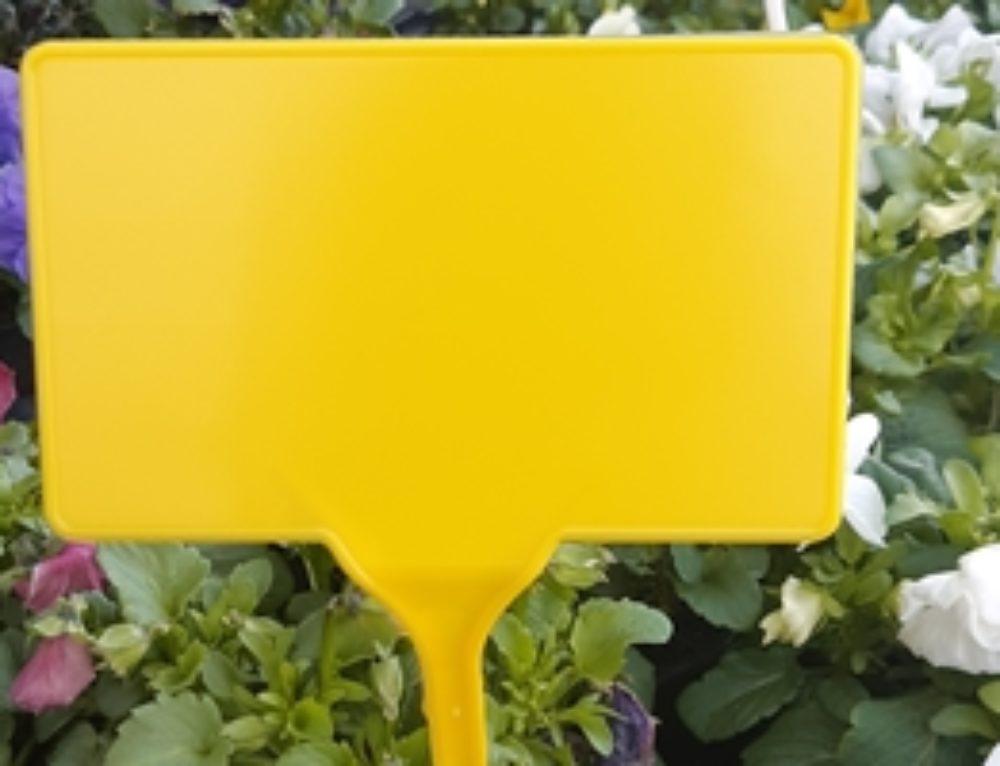 Pincho señalización amarillo
